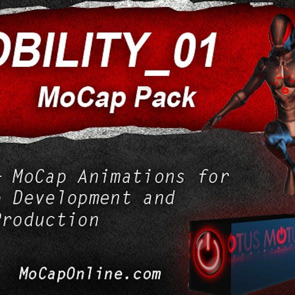 MOBILITY_01: MoCap Pack