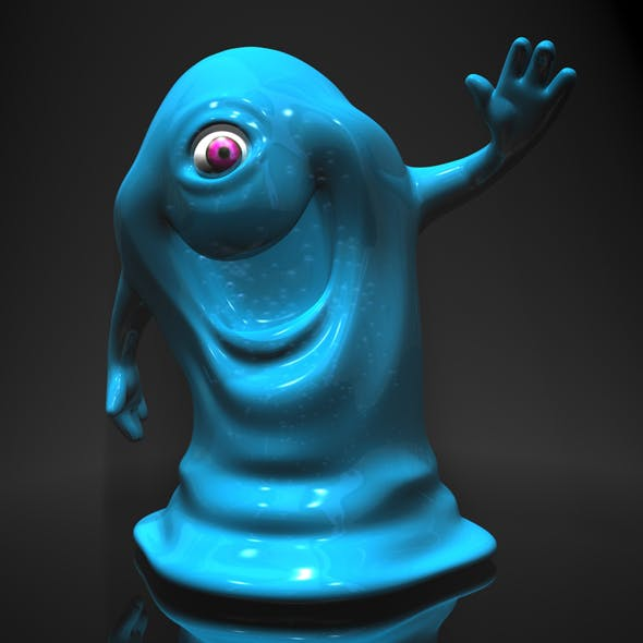 Bob from Monsters vs Aliens RIGGED