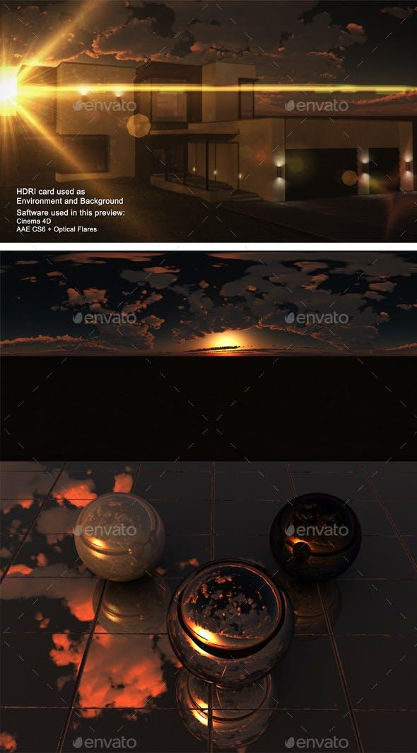 Sunset Desert 37 - 3DOcean Item for Sale