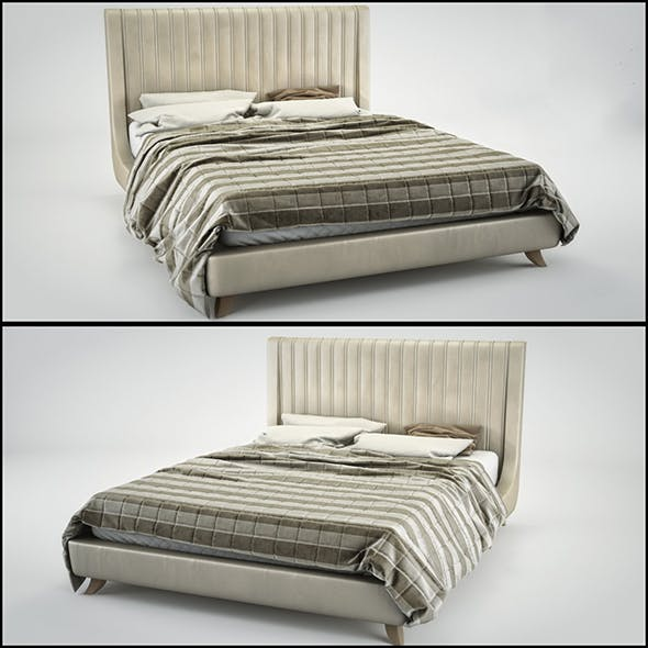 Bed Le Fablier Odetta - 3DOcean Item for Sale