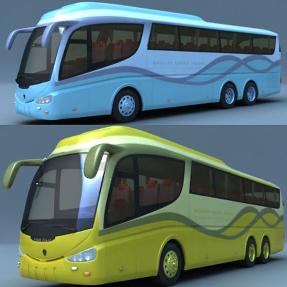 Scania Bus - 3DOcean Item for Sale