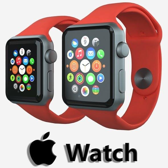 Apple watch v7 - 3DOcean Item for Sale