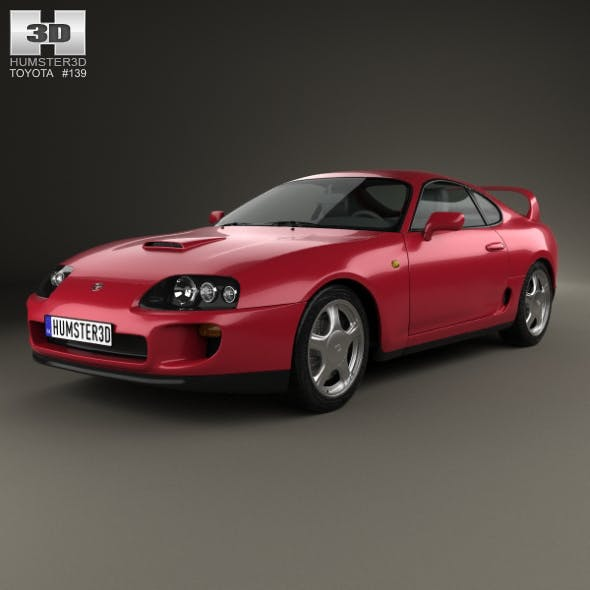 Toyota Supra 1993 - 3DOcean Item for Sale
