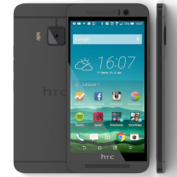 HTC One M9 Gunmetal Gray - 3DOcean Item for Sale