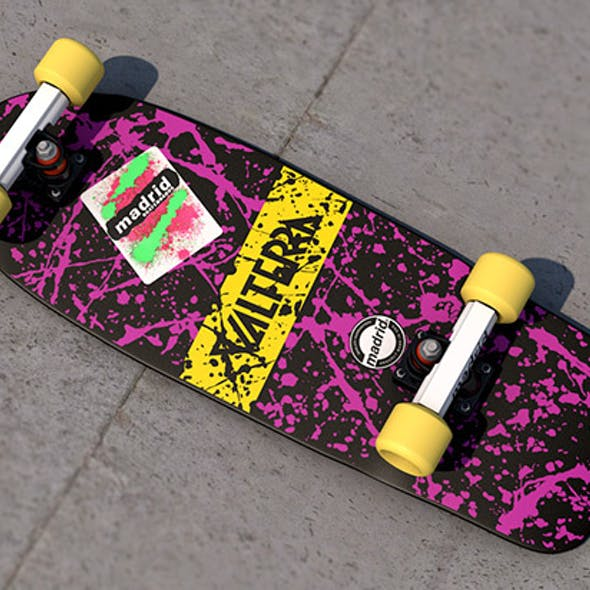 Marty McFly Valterra x Madrid skateboard