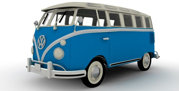 Volkswagen Combi - 3DOcean Item for Sale