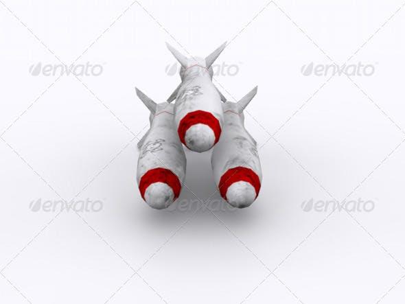 Missile - 3DOcean Item for Sale