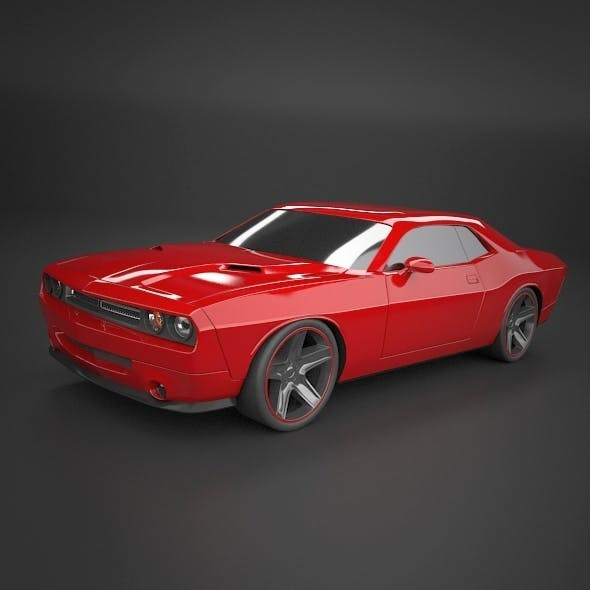 Dodge Challenger 2008 muscle car restyled