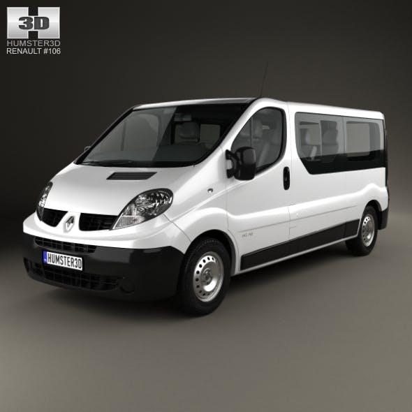 Renault Trafic Passenger Van LWB 2010
