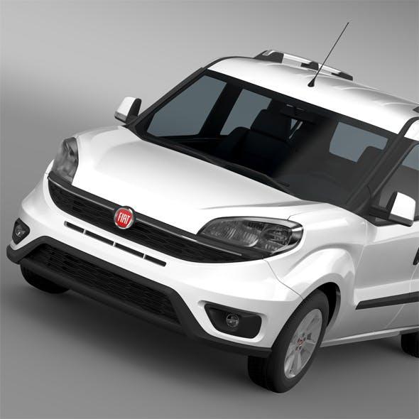 Fiat Doblo 263 UK spec 2015 - 3DOcean Item for Sale