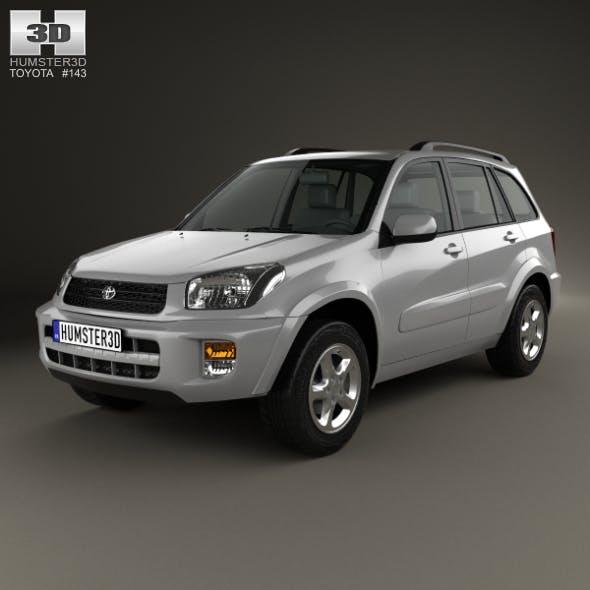 Toyota RAV4 5-door 2001 - 3DOcean Item for Sale