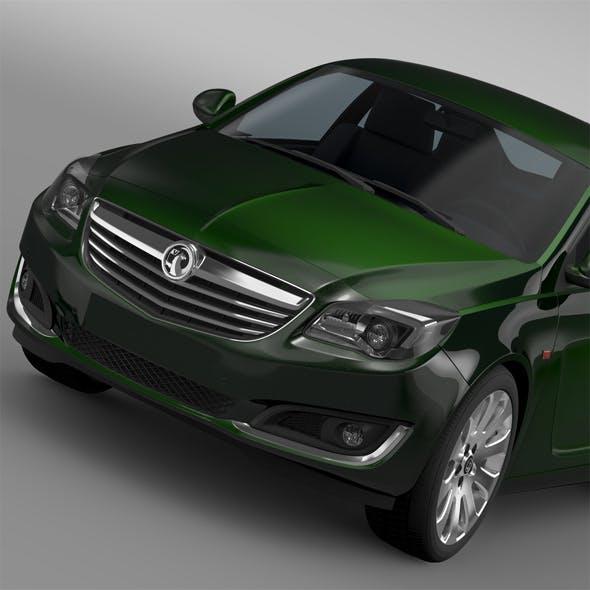 Vauxhall Insignia ECOFlex 2015 - 3DOcean Item for Sale