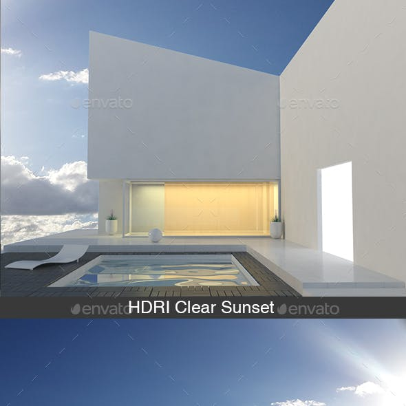 HDRI Clear Sunset
