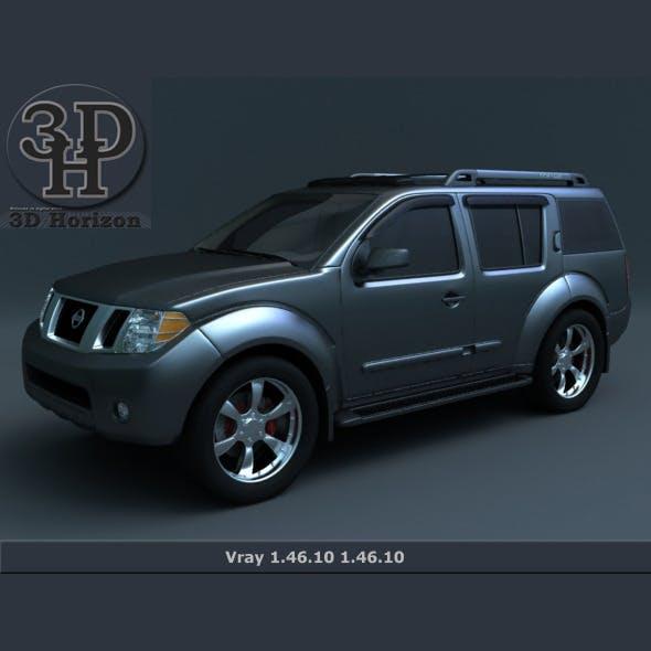 Nissan Pathfinder 2011 2012 - 3DOcean Item for Sale