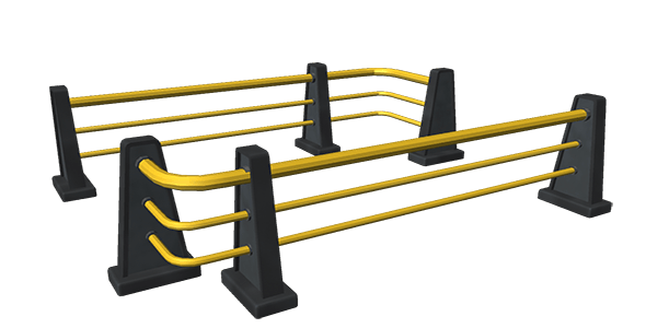 Game fence  - 3DOcean Item for Sale