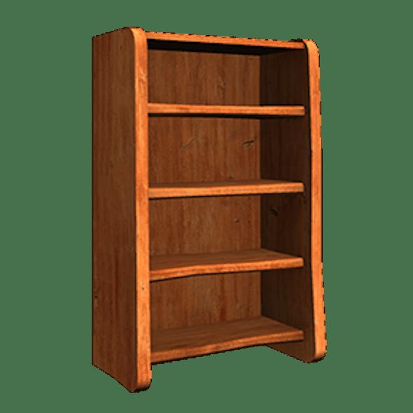 Shelf low poly