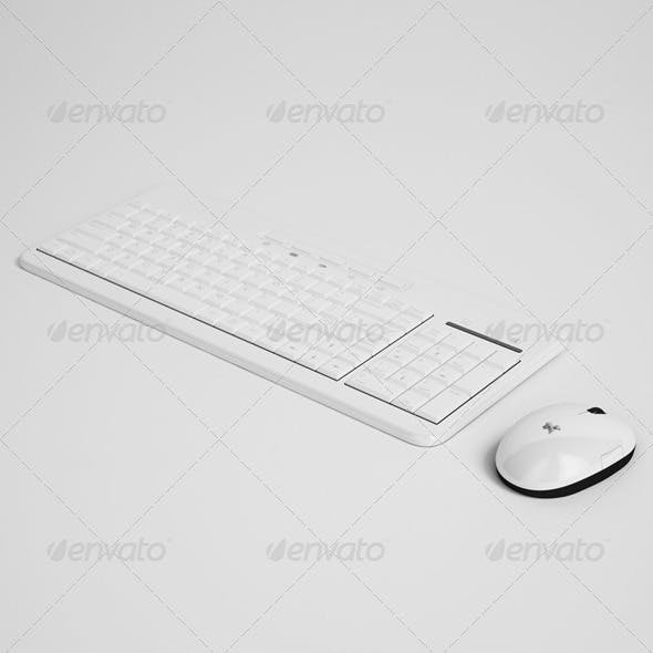 CGAxis Keyboard and Mouse Electrionics 27