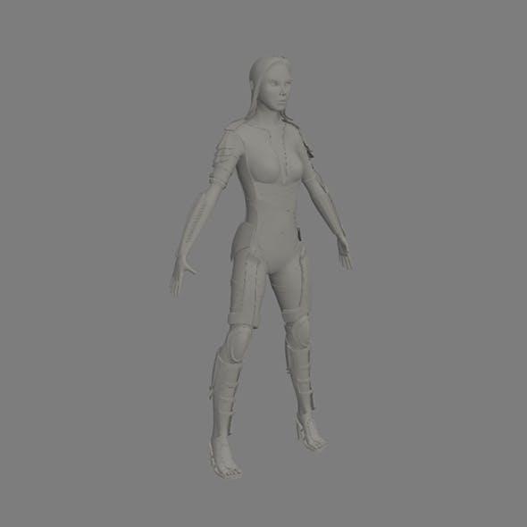 character elf girl