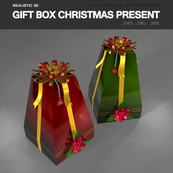 Gift Box Christmas present