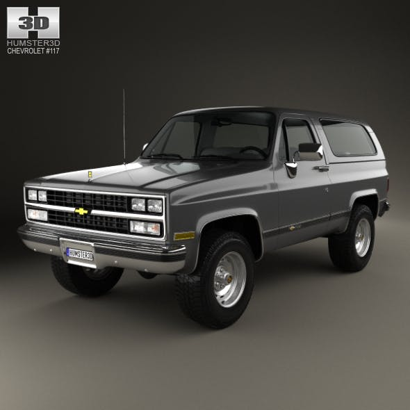 Chevrolet Blazer (K5) 1989 - 3DOcean Item for Sale