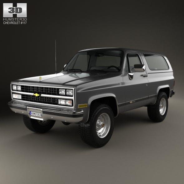 Chevrolet Blazer (K5) 1989