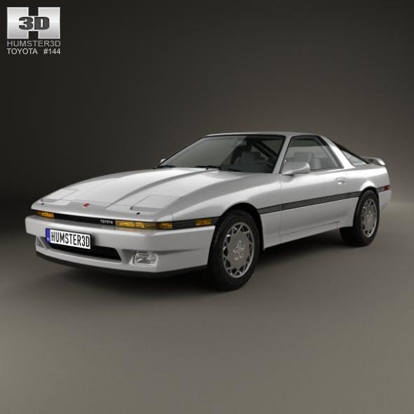 Toyota Supra 1986 - 3DOcean Item for Sale