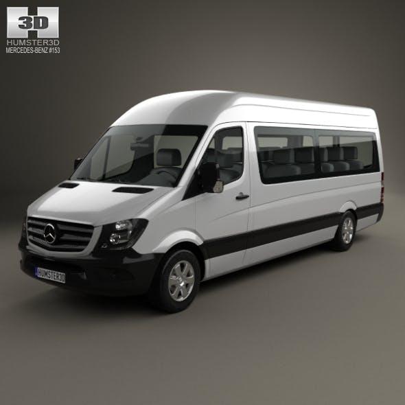Mercedes-Benz Sprinter Passenger Van LWB HR 2013 - 3DOcean Item for Sale
