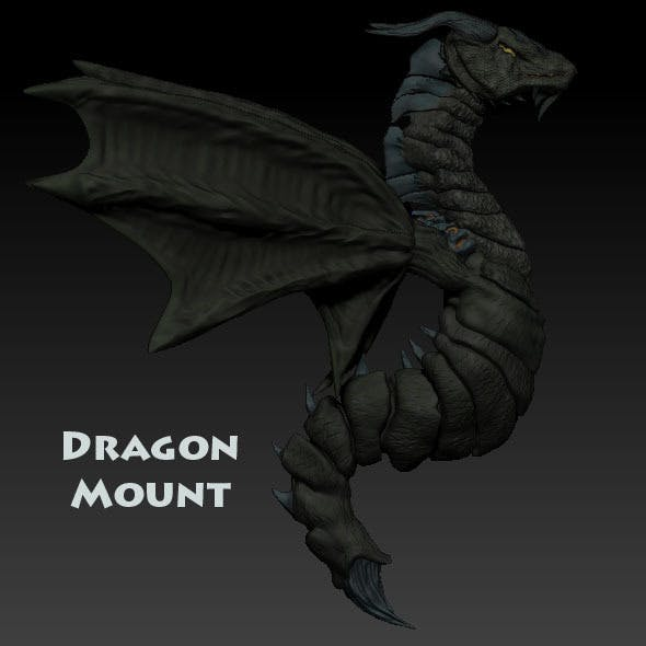 Dragon Mount - 3DOcean Item for Sale