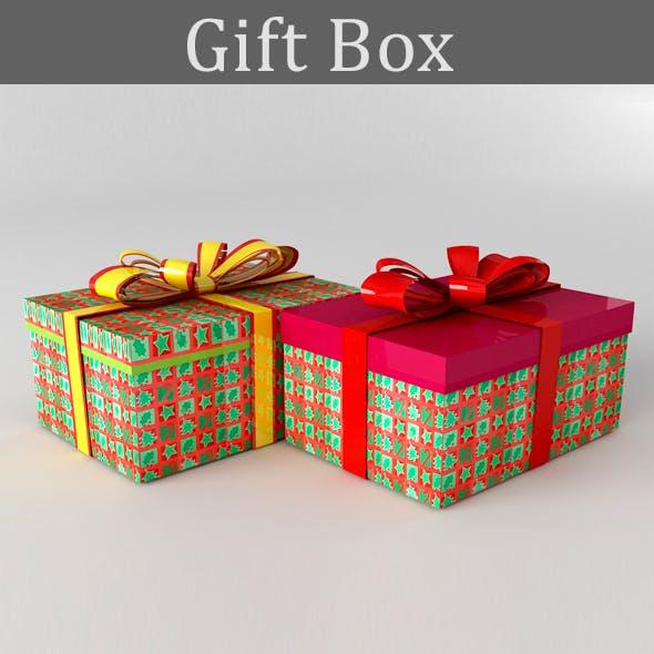 Gift box (Christmas)