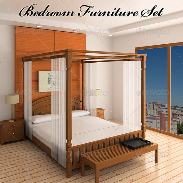 Bedroom furniture 2 - 3DOcean Item for Sale