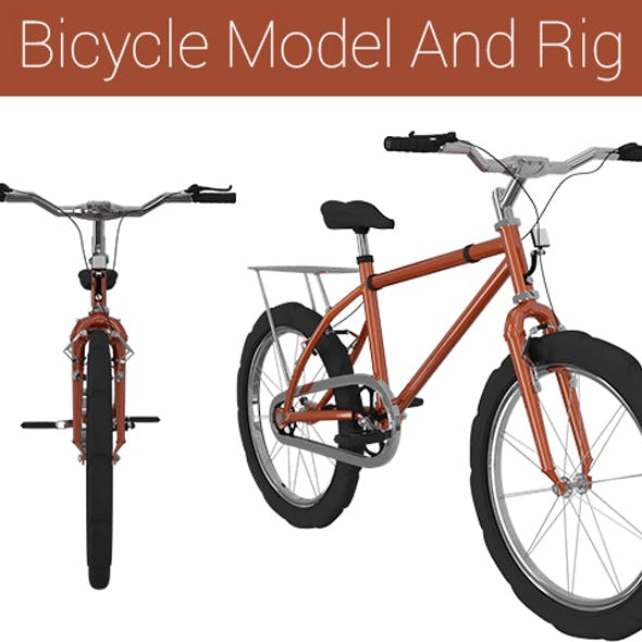 Bicycle Model And Rig