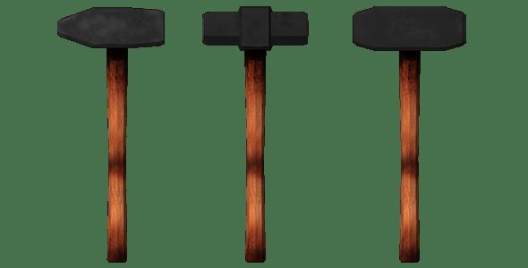 sledge,hammer  - 3DOcean Item for Sale