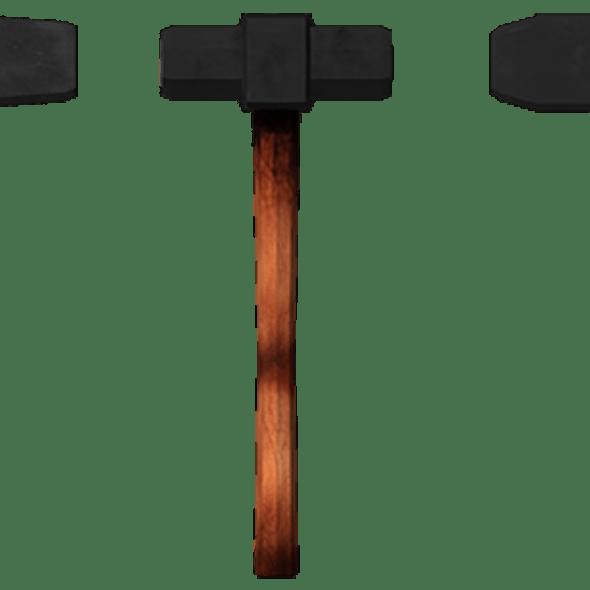 sledge,hammer