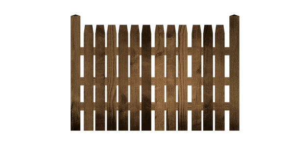 Wooden fence pack - 3DOcean Item for Sale