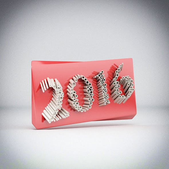 New Year - 3DOcean Item for Sale