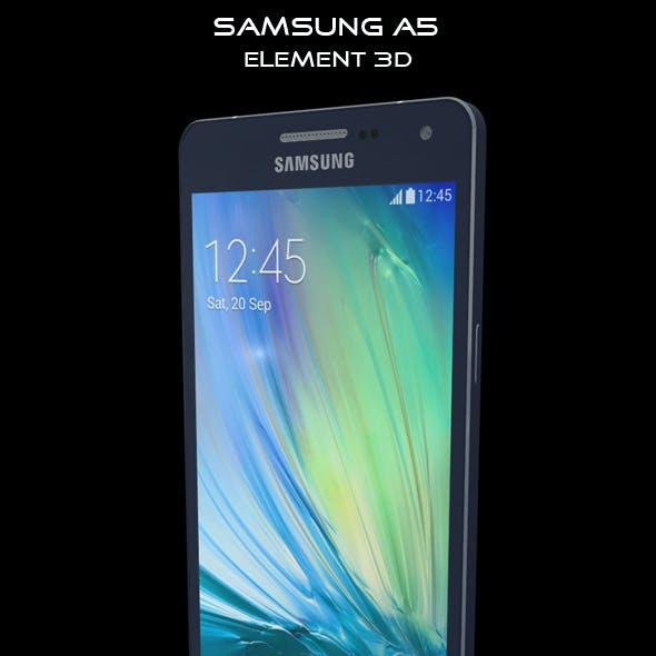 Element 3D Samsung A5 Blue