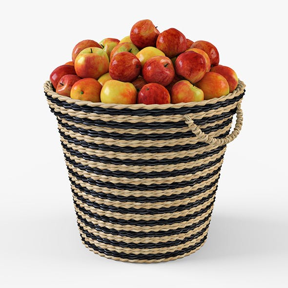 Wicker Apple Basket Ikea Maffens