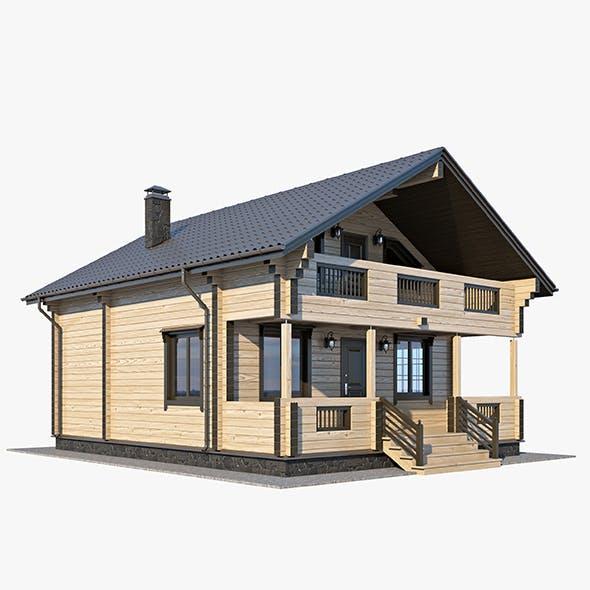 Log House 01