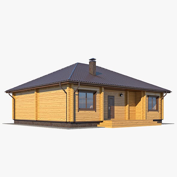 Log House 02 - 3DOcean Item for Sale