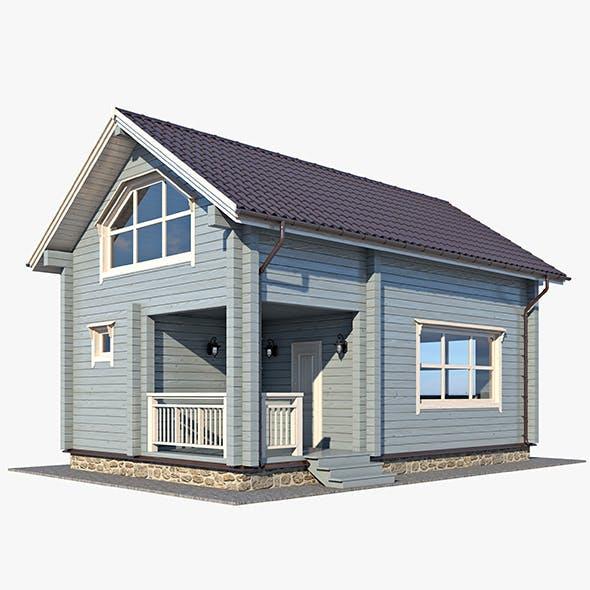 Log House 03