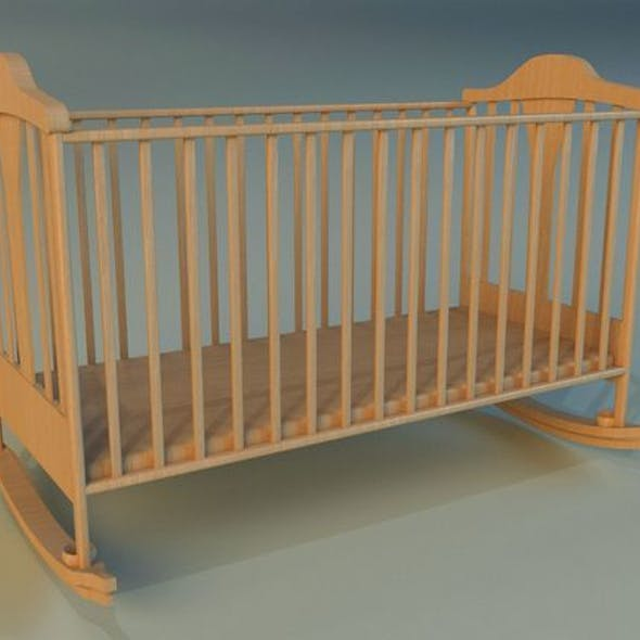 Cot baby bed