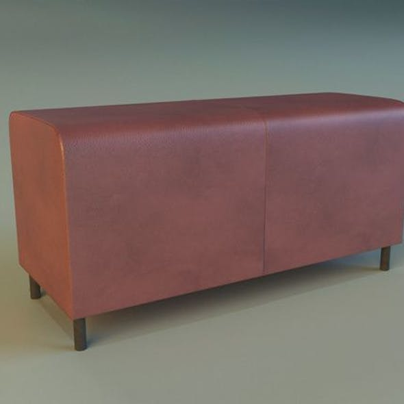 Banquette leather