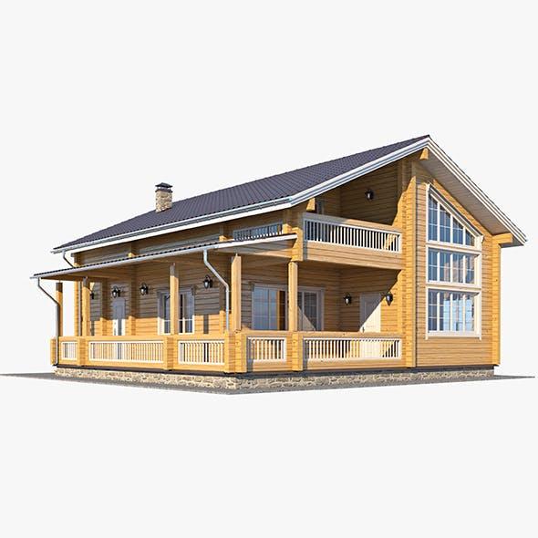 Log House 05 - 3DOcean Item for Sale
