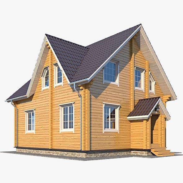 Log House 06