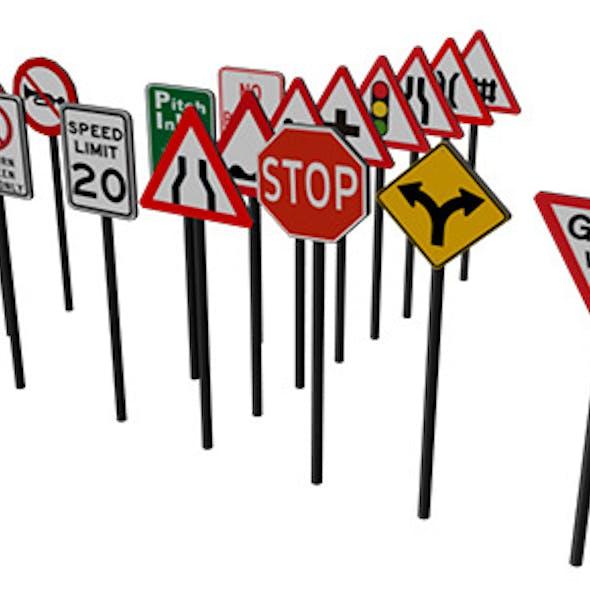 Traffic signboard