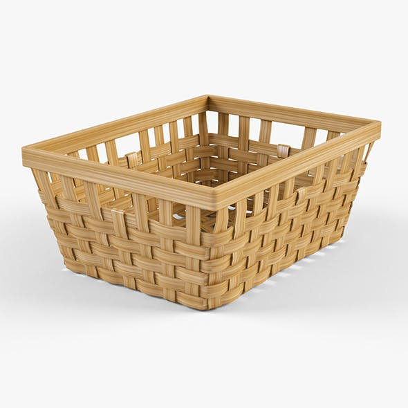 Wicker Basket Ikea Knarra 1 (Natural Color)