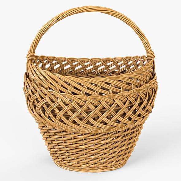 Wicker Basket 01