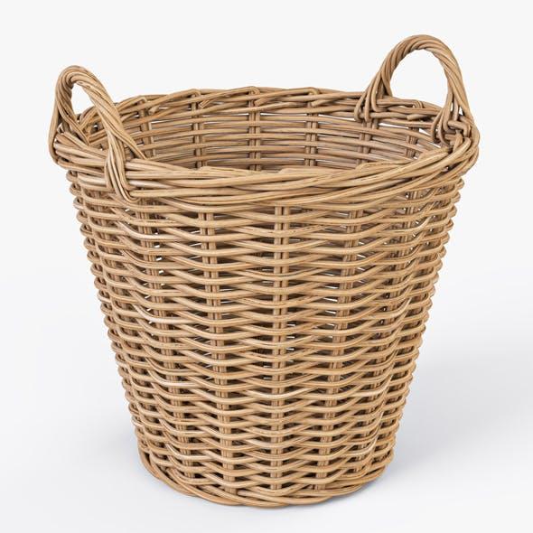 Wicker Basket Ikea Nipprig - 3DOcean Item for Sale