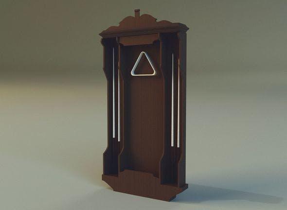 Cabinet cue - 3DOcean Item for Sale