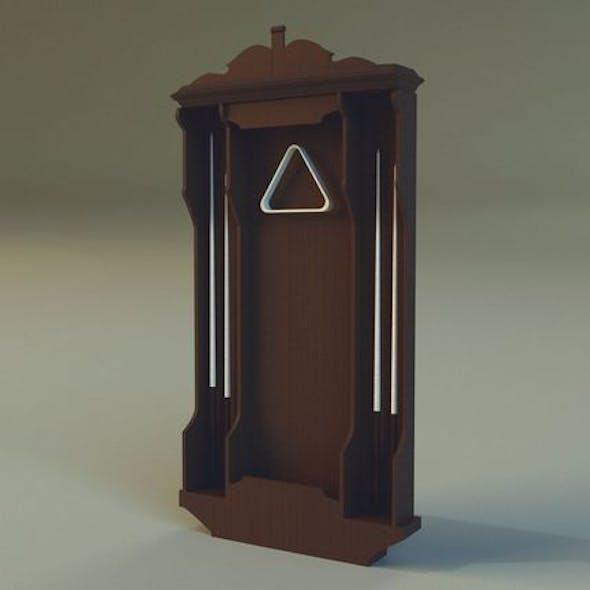 Cabinet cue